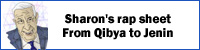 Sharon's rap sheet, From Qibya to Jenin